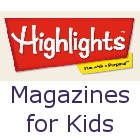 HIGHLIGHTS has several publications that are designed to educate and entertain children up to age 12.