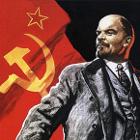 Lenin Propaganda Poster - Cropped