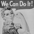 World War II - We Can Do It Poster
