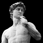 Art History (Michelangelo's David)