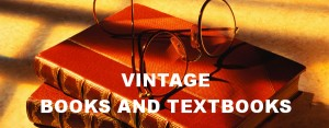 Vintage Books and Textbooks